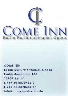 Come Inn Berlin Kurfurstendamm Opera